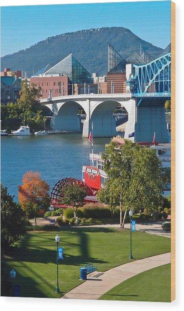 Chattanooga Landmarks Wood Print
