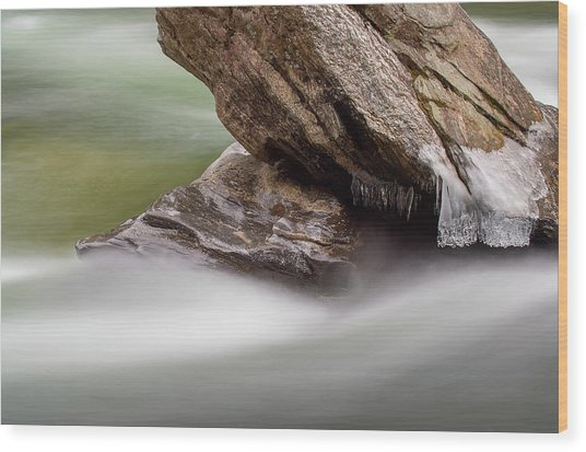 Chattooga River 20 Wood Print by Derek Thornton