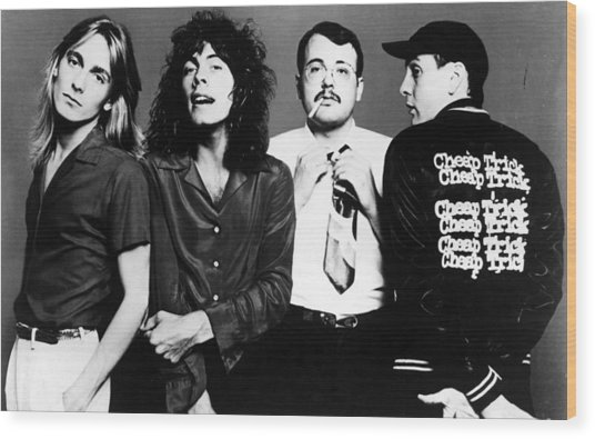 Cheap Trick, Robin Zander, Tom Wood Print by Everett