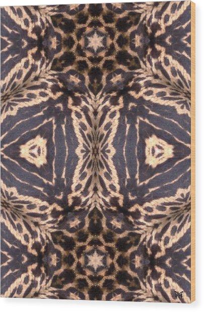 Cheetah Print Wood Print