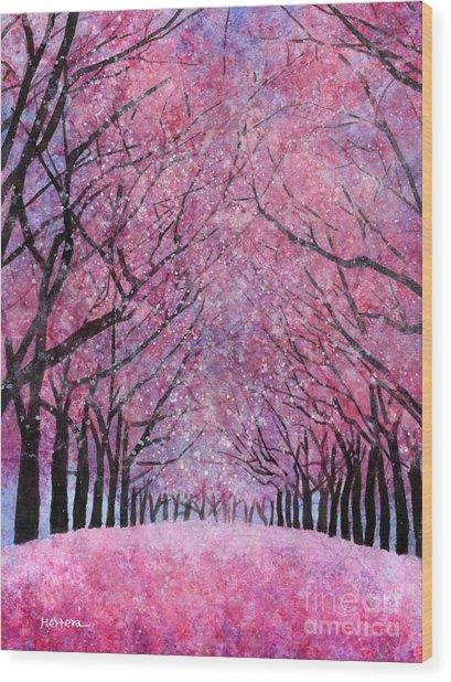 Cherry Blast Wood Print