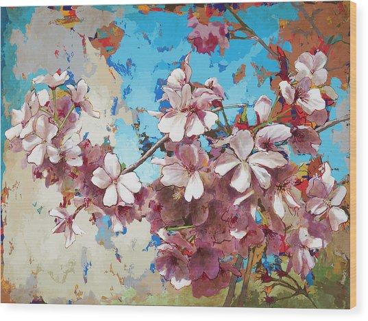 Cherry Blossoms #3 Wood Print