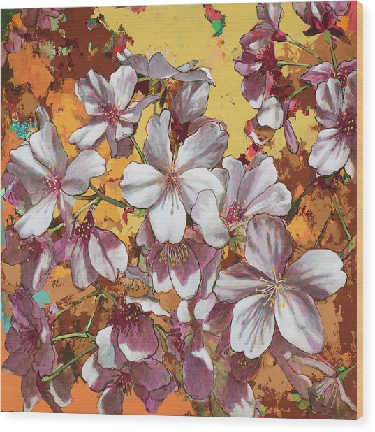 Cherry Blossoms #4 Wood Print