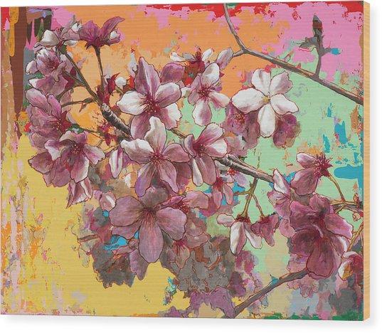 Cherry Blossoms #5 Wood Print