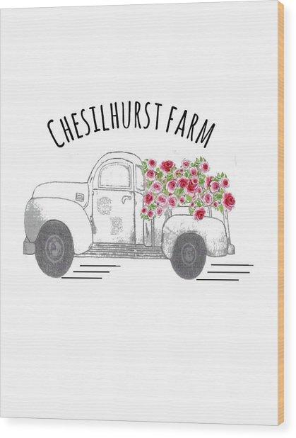 Chesilhurst Farm Wood Print