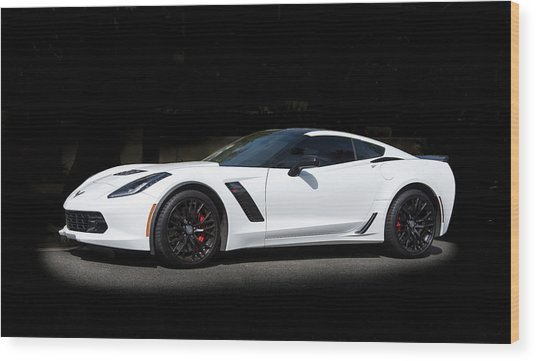 Chevrolet Corvette Z06 - 2017  Wood Print
