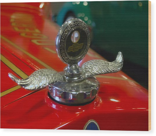 Chevrolet Wings Wood Print