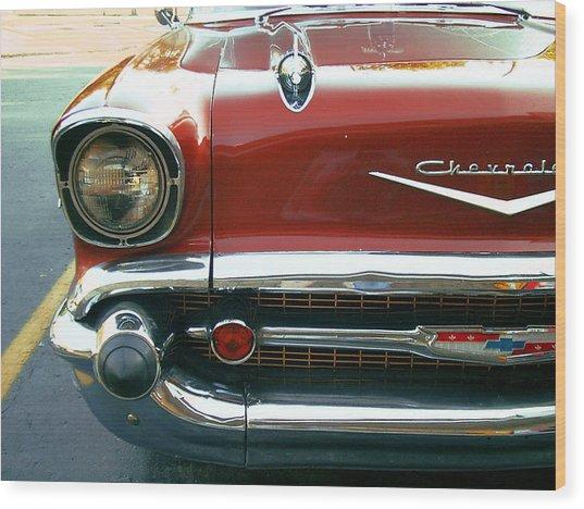 Chevy Bel Air  Wood Print by Jame Hayes