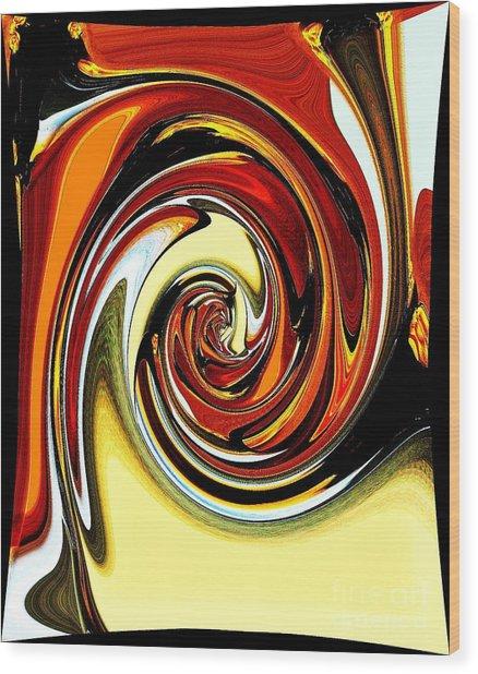 Chewey Candy Wood Print by Marsha Heiken