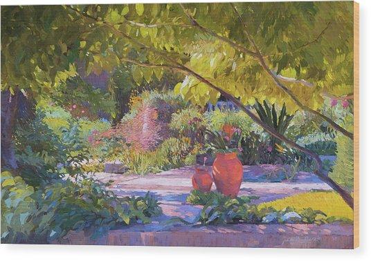 Chicago Botanic Garden Wood Print