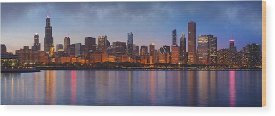 Chicago's Beauty Wood Print