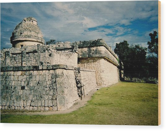 Chichen Itza 1 Wood Print