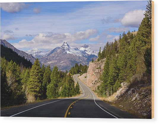 Chief Joseph Scenic Highway Wood Print