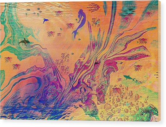 Childrens Imagination Wood Print