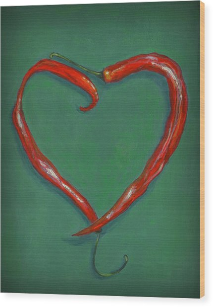 Chiles - Sweet Heat Wood Print