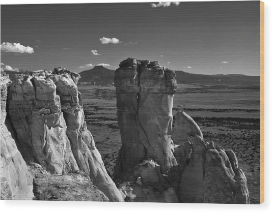 Chimney Rock And Cerro Pedernal 3 Wood Print