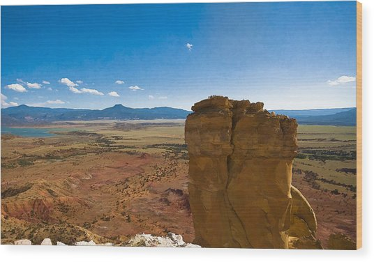 Chimney Rock  And Cerro Pedernal Wood Print