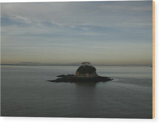 China Camp Island Wood Print
