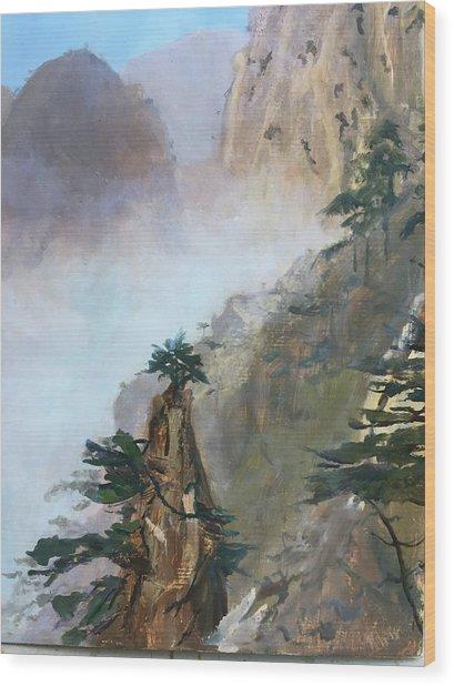 China Memories Wood Print