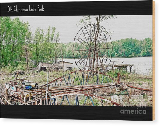 Chippewa Lake Park Now 2 Wood Print