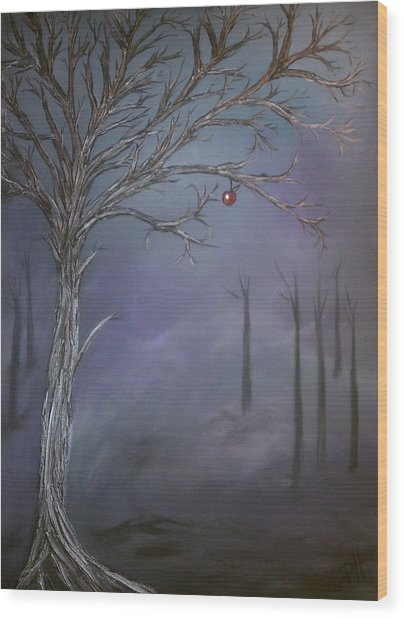 Choice V Wood Print by Patti Spires Hamilton