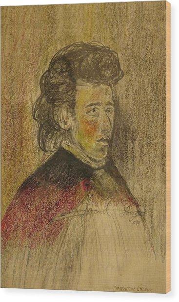 Chopin Wood Print