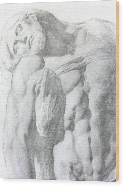 Christ 1a Wood Print by Valeriy Mavlo