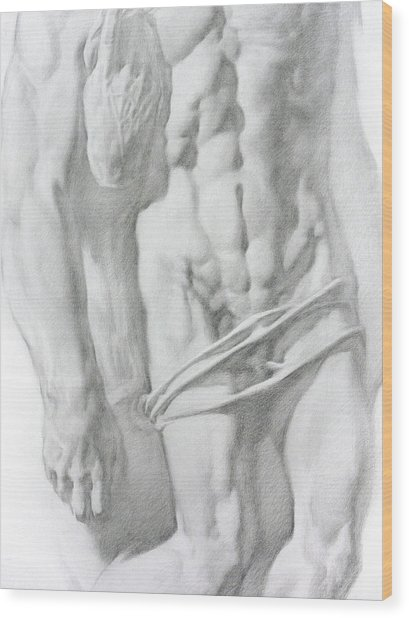 Christ 1b Wood Print by Valeriy Mavlo
