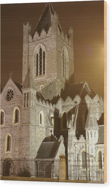 Christ Church Dublin Ireland Wood Print