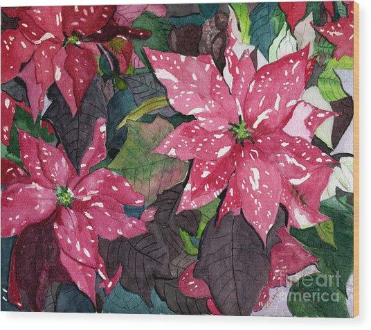 Christmas Beauty Wood Print