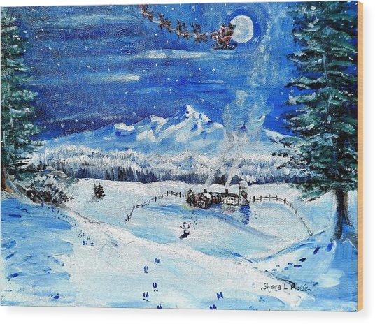 Christmas Wonderland Wood Print