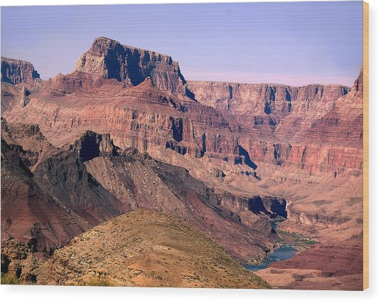 Chuar Butte  Grand Canyon National Park Wood Print