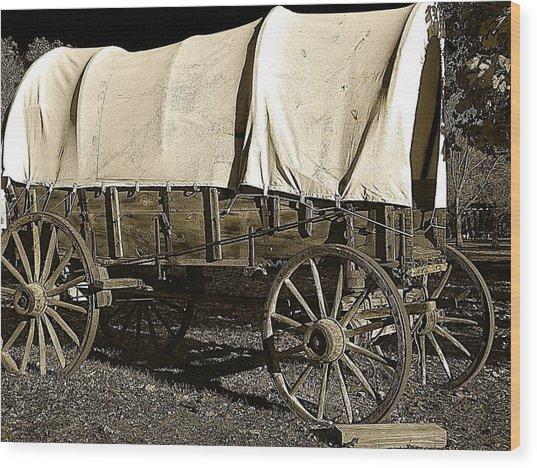 Chuck Wagon 2 Wood Print