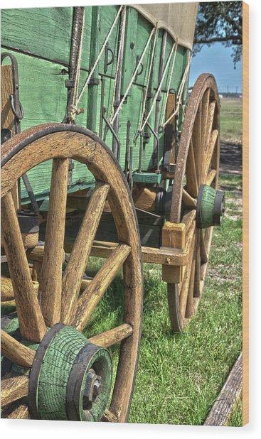 Chuck Wagon3 Wood Print