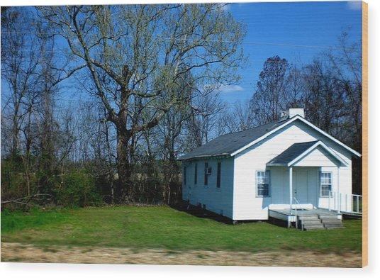 Church Highway 61 Wood Print