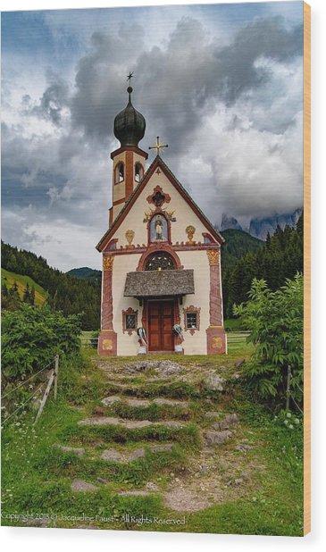 Church Of Saint Johann  Wood Print