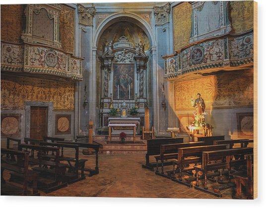 Church Of San Giuseppe Del Duomo Orvieto Italy Wood Print