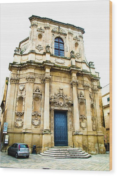 Church Of St Chiari Wood Print