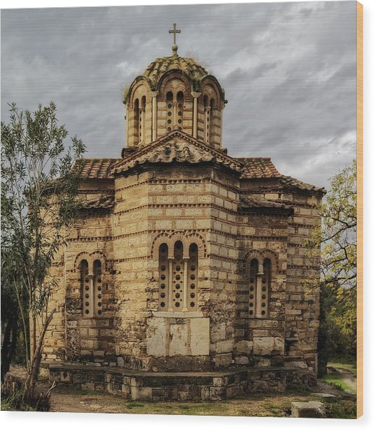 Church Of The Holy Apostles Wood Print