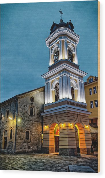 Church Of The Holy Mother Of God Wood Print