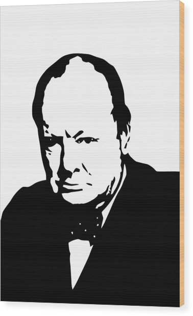 Churchill Wood Print