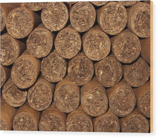 Cigars 262 Wood Print