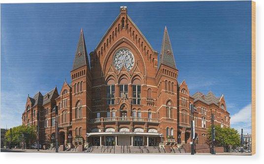 Cincinnati Music Hall Wood Print