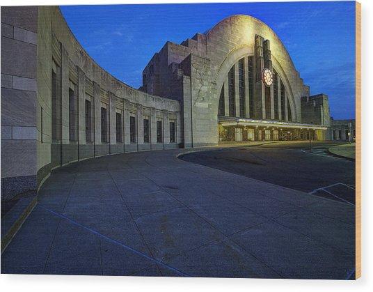 Cincinnati Union Terminal Wood Print