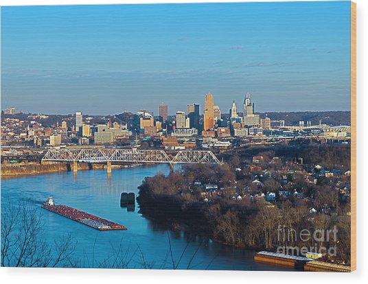 Cincinnati View From The West Wood Print