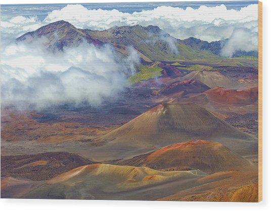 Cinder Cones - Haleakala Wood Print