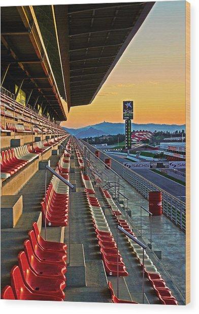Circuit De Catalunya - Barcelona  Wood Print