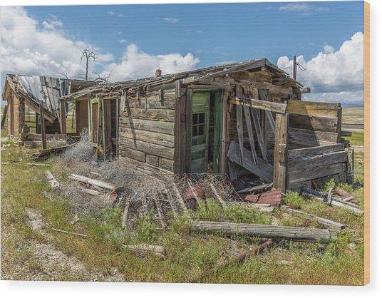 Cisco, Utah, Ghost Town Wood Print