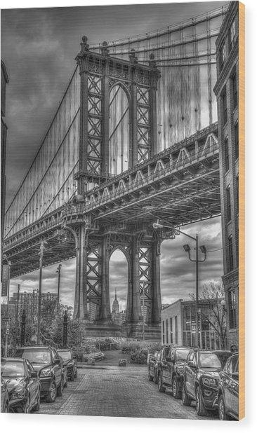 City Mood II Wood Print by Michael Santos