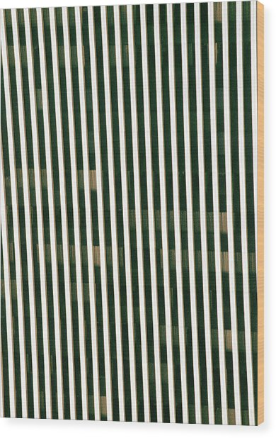 City Stripes Wood Print